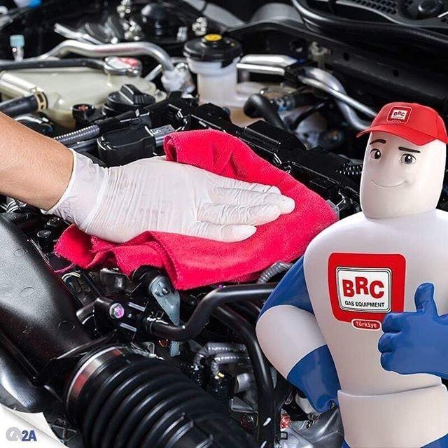 BRC'li araçlard...